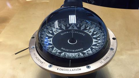 Old Danforth Constellation compass