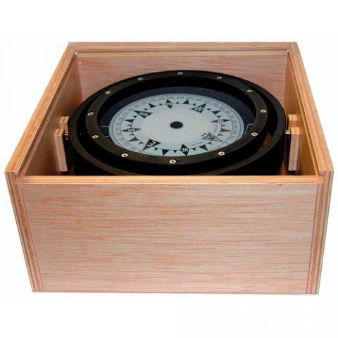 Compas en caja de madera C20-00131