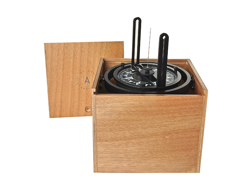 Taxímetro de alidada profesional en caja de madera – 00122